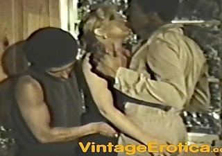 blond takes two dark knobs vintage